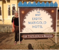 best exotic marigold hotel golden milk india